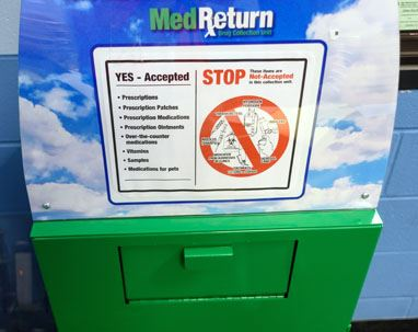 Med Return Box