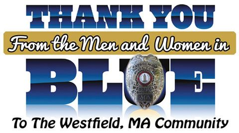 Police Department Thank You Westfield
